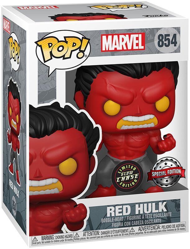 Red Hulk (Chase Edition möglich!) Vinyl Figur 854