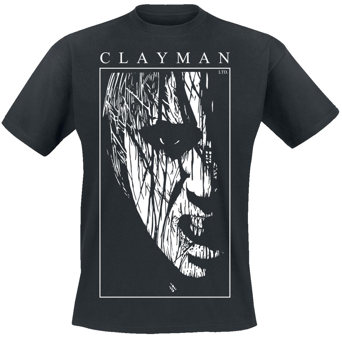 Clayman Ltd. - Dark Face - T-Shirt - black image