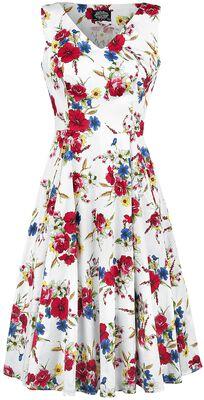 Camellia Floral Swing Dress