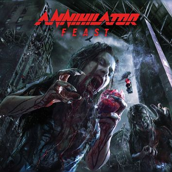 Image of Annihilator Feast CD Standard