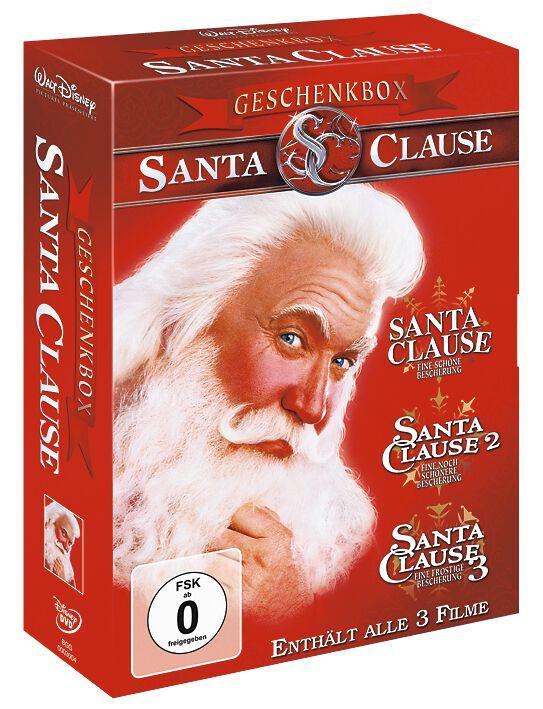 Image of Santa Clause 1-3 - Geschenkbox 3-DVD Standard