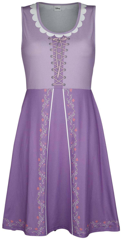 Kleider - Rapunzel Cosplay Mittellanges Kleid multicolour  - Onlineshop EMP