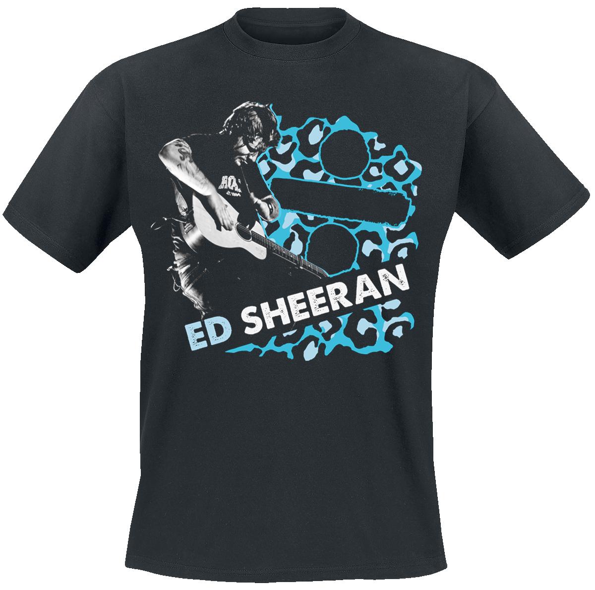 Ed Sheeran - Leopard Live - T-Shirt - black image