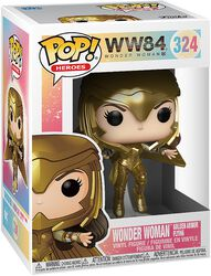 1984 - Wonder Woman Golden Armor Flying Vinyl Figur 324