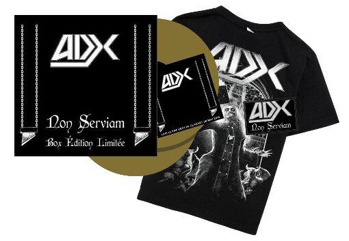Image of ADX Non serviam 2-LP & CD goldfarben