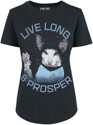 Live Long & Prosper Cat