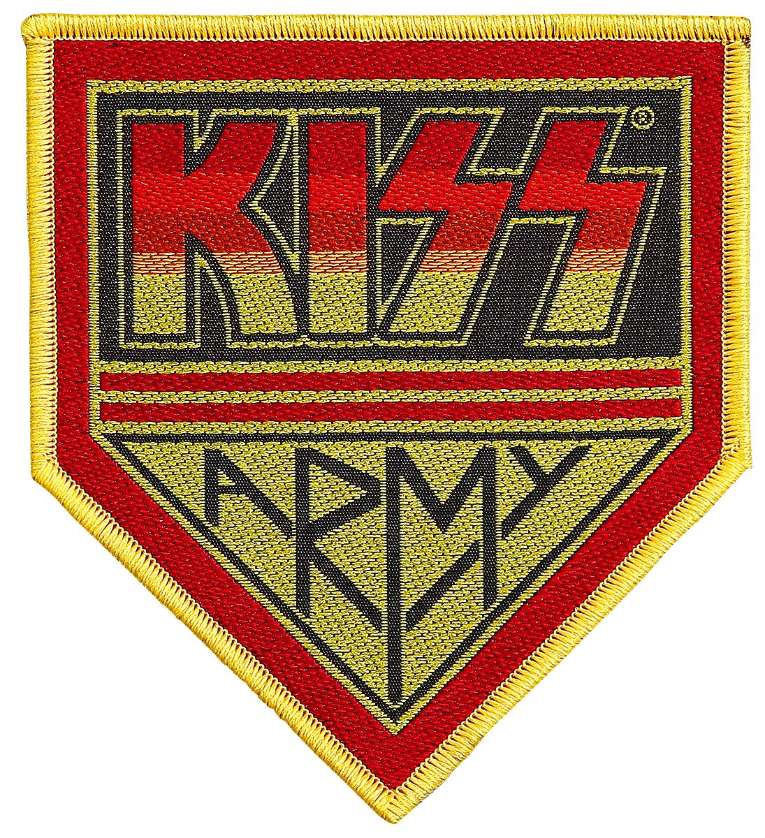 Kiss  Army  Patch  multicolor