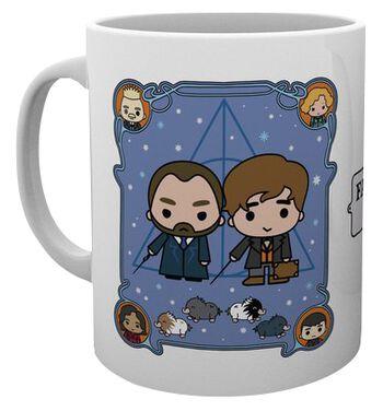 Grindelwalds Verbrechen - Chibi Newt und Dumbledore