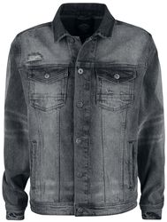 Denim Jacket Metal Grey