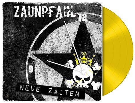 Zaunpfahl Neue Zaiten CD gelb LP 01779