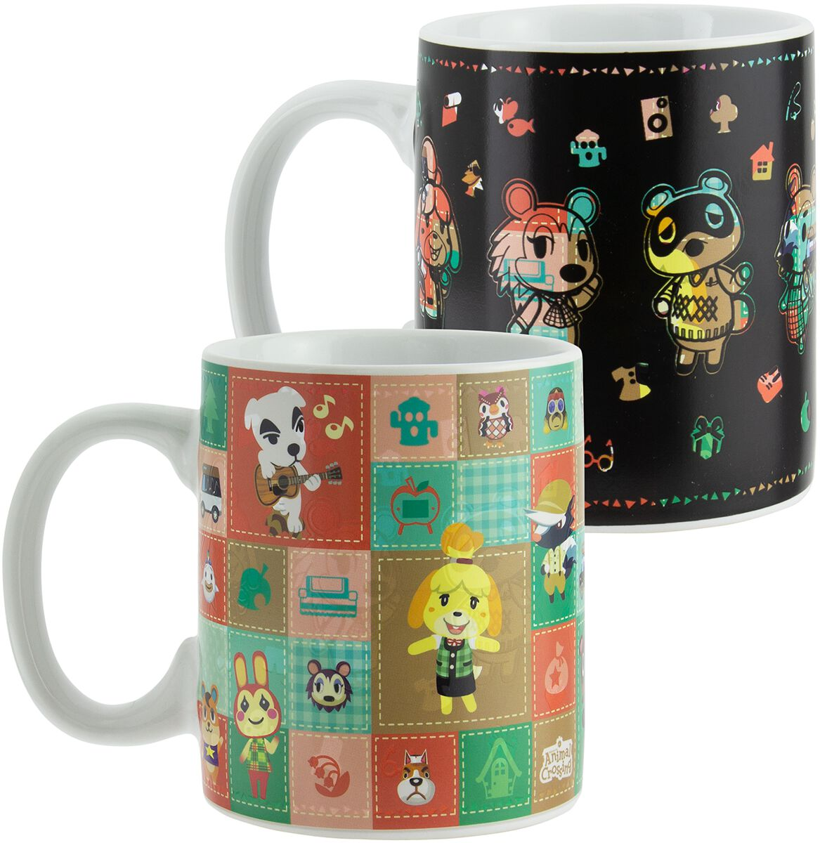 Image of Animal Crossing Characters - Tasse mit Thermoeffekt Tasse multicolor