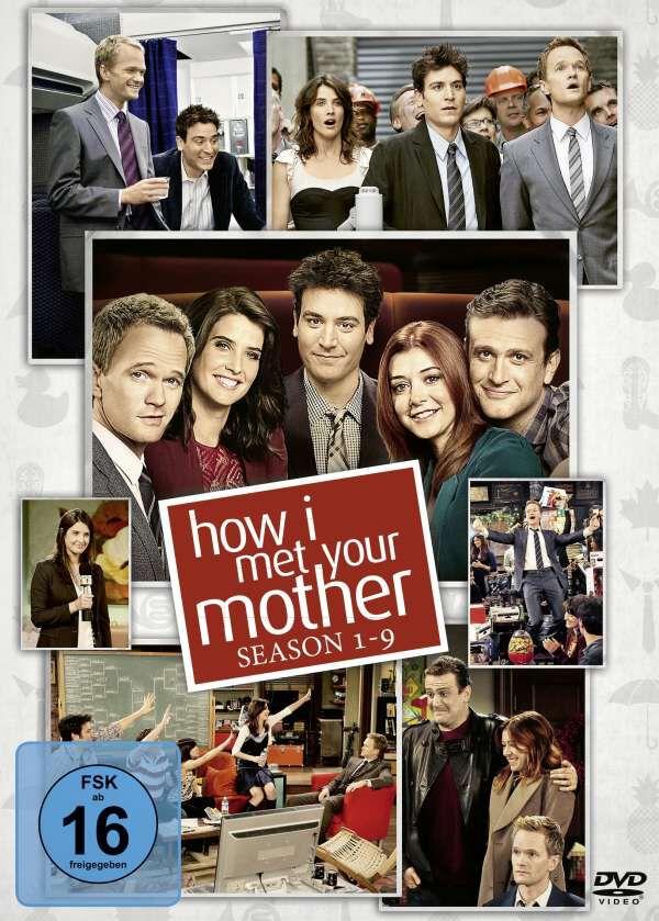 Image of How I Met Your Mother Season 1-9 - Komplettbox 27-DVD Standard