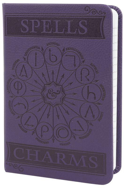 Spells & Charms - A6 Pocket Premium Notizbuch