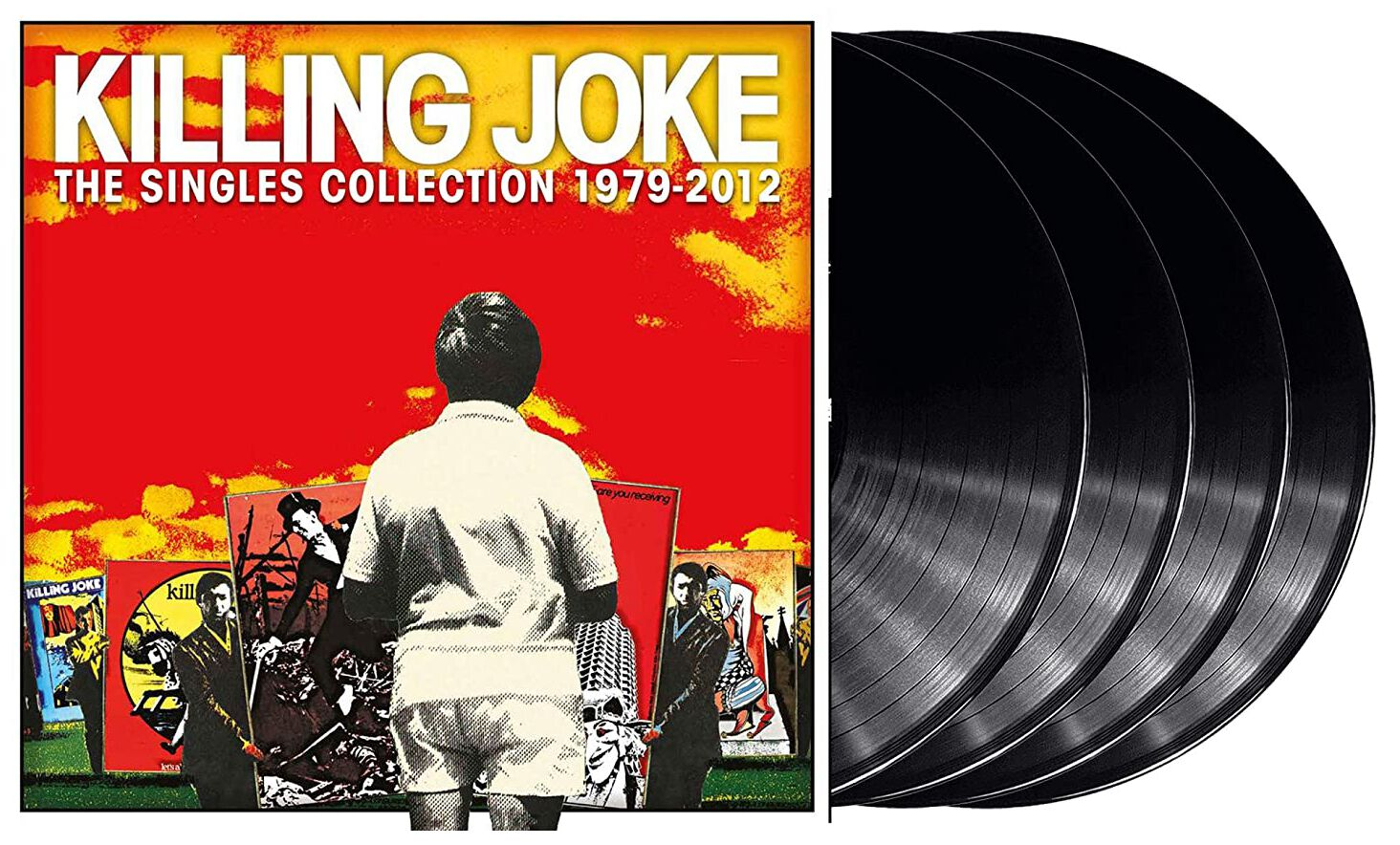 Image of Killing Joke Singles Collection 1979-2012 4-LP Standard