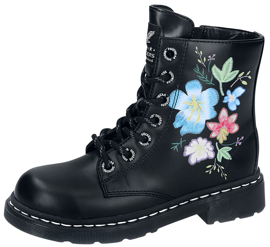 Big Flower Boots