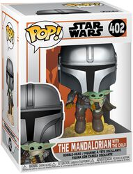 The Mandalorian - The Mandalorian With The Child Vinyl Figur 402