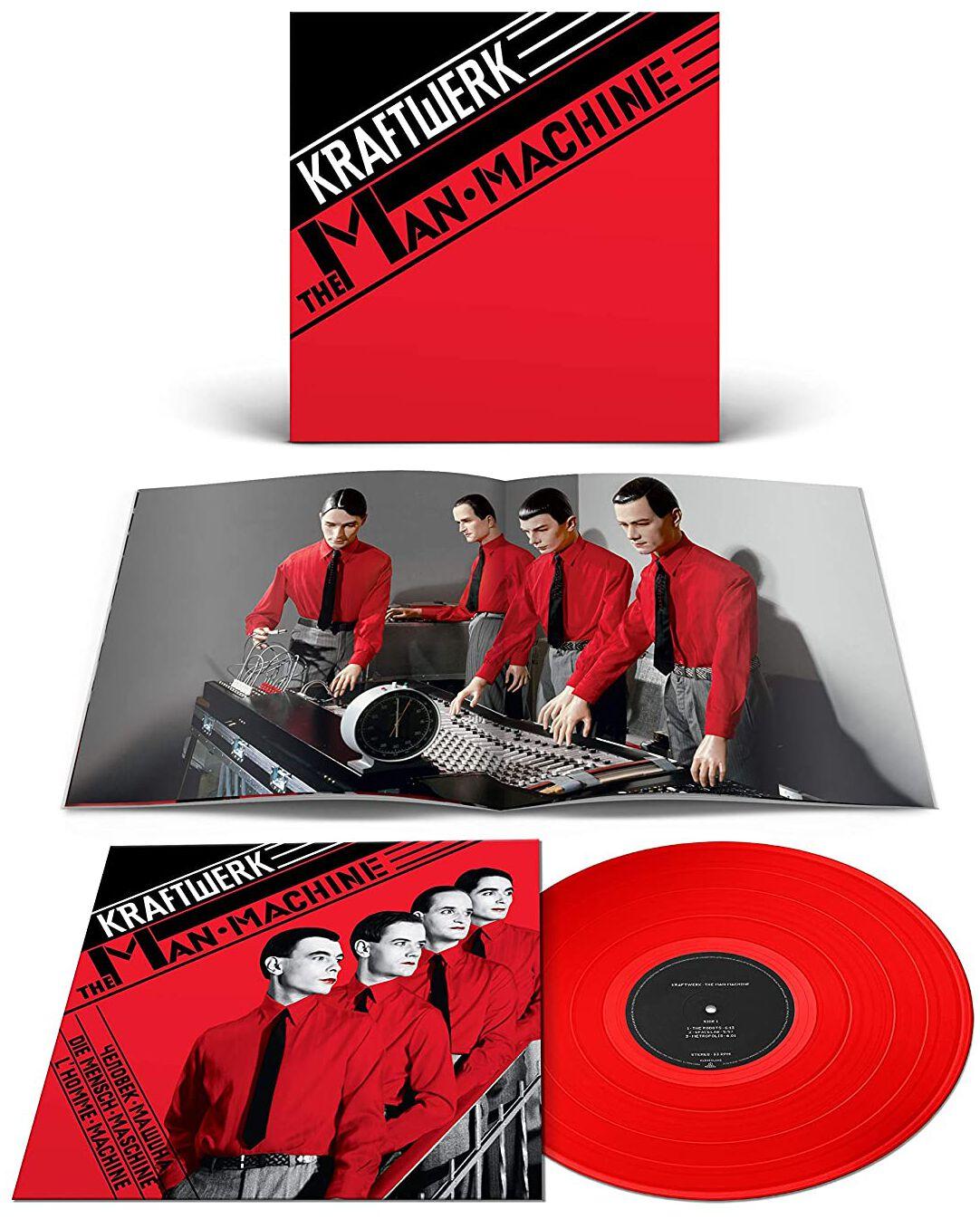 Kraftwerk The Man-Machine LP rot 9029527233