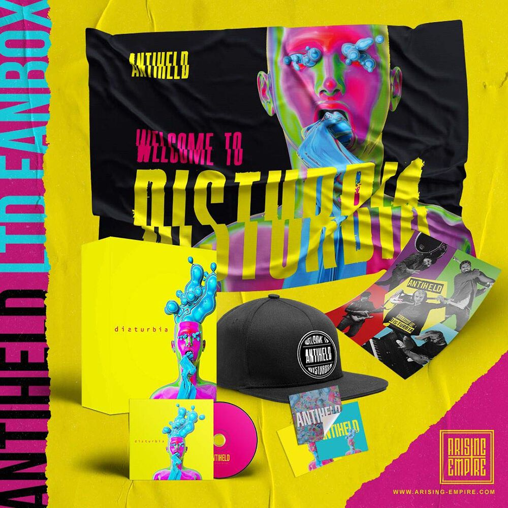 Image of Antiheld Disturbia CD Standard