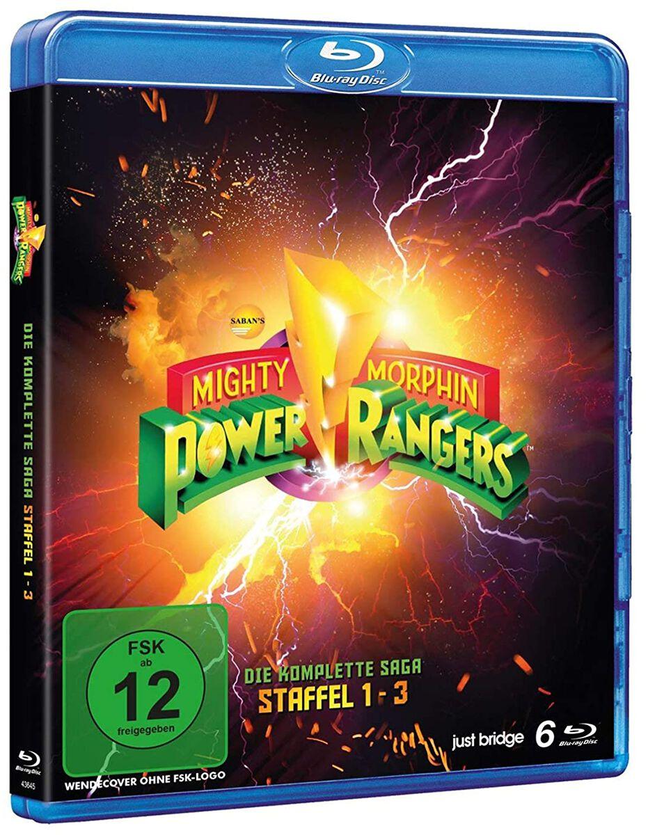 Power Rangers Mighty Morphin Power Rangers - Die komplette Saga - Staffel 1-3  Blu-Ray  Standard