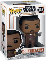 The Mandalorian - Greef Karga Vinyl Figur 347
