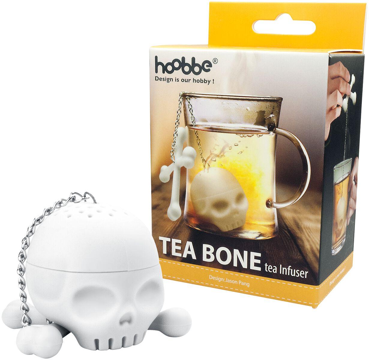 Totenkopf Tee Ei weiß 13215