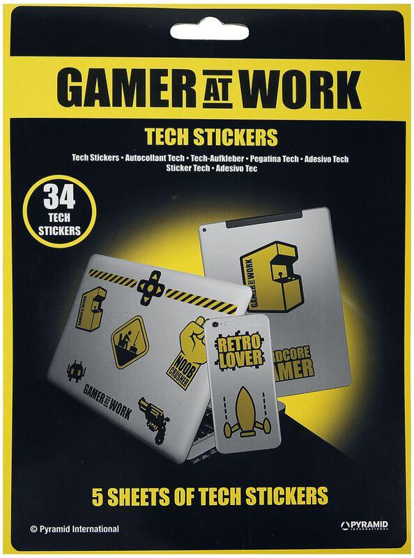 Gamer At Work Retro Lovers