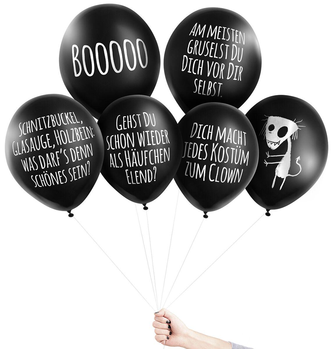 Image of Pechkeks Anti-Ballons - Halloween Aufblasbares schwarz