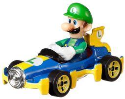 Mario Kart Hot Wheels Diecast Modellauto 1/64 - Luigi (Mach 8)
