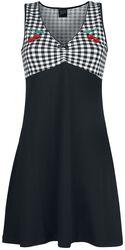 Vichy Cherry Dress