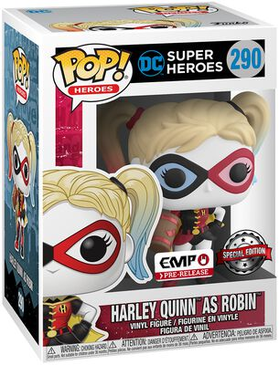 Harley Quinn as Robin Vinyl Figure 290