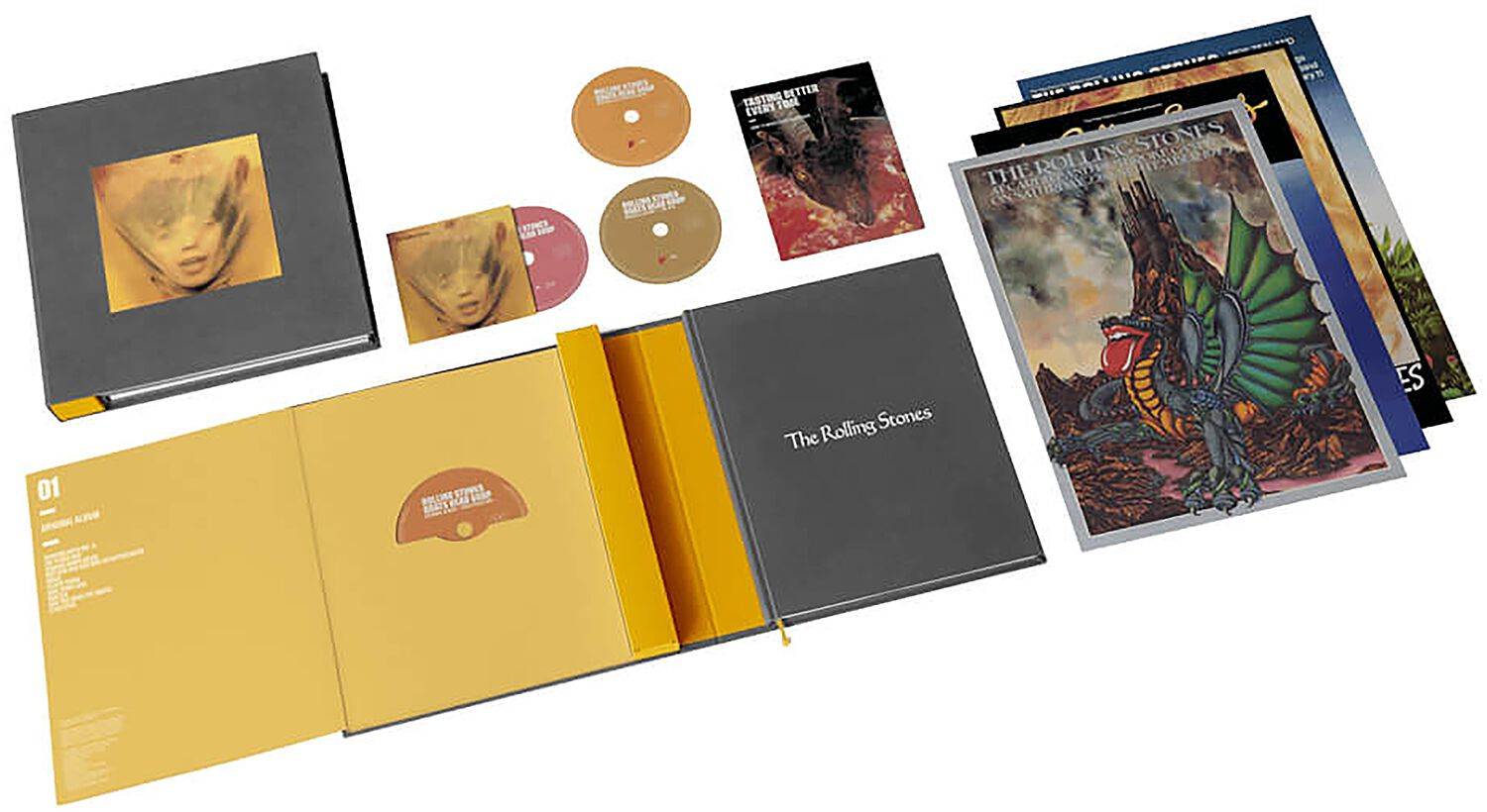 Image of The Rolling Stones Goats head soup 3-CD & Blu-ray Standard