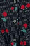 Cherry Dots Short Blouse