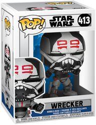 Clone Wars - Wrecker Vinyl Figur 413