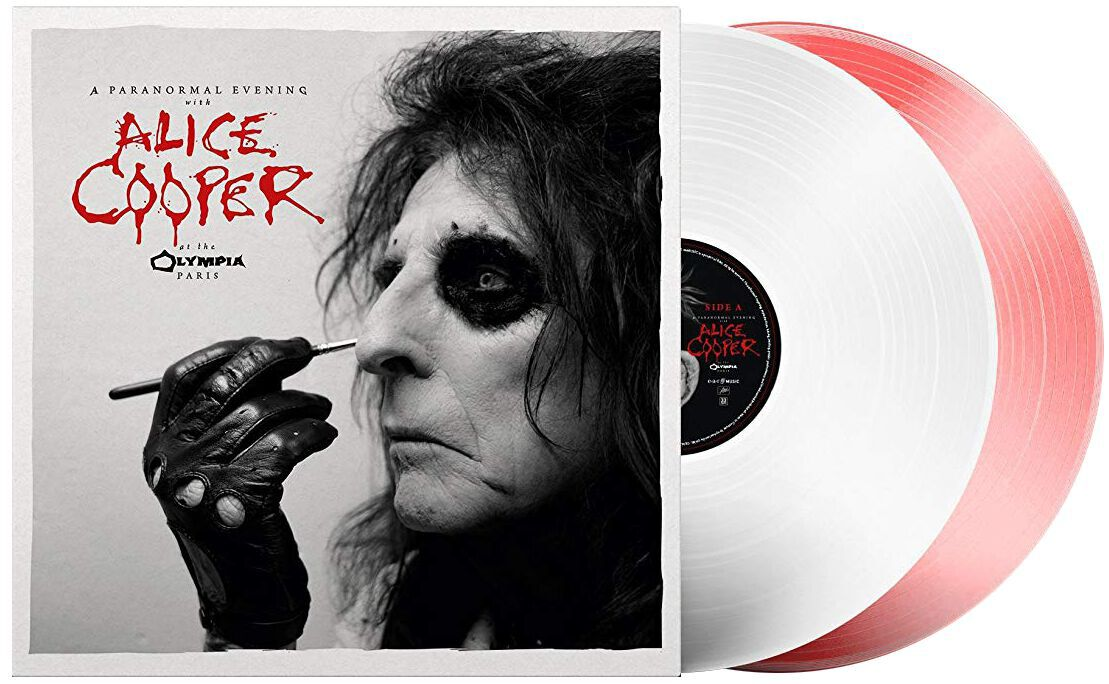 Image of Alice Cooper A paranormal evening at The Olympia Paris 2-LP weiß/rot