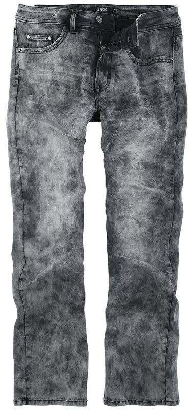 Johnny - Graue Jeans mit Waschung