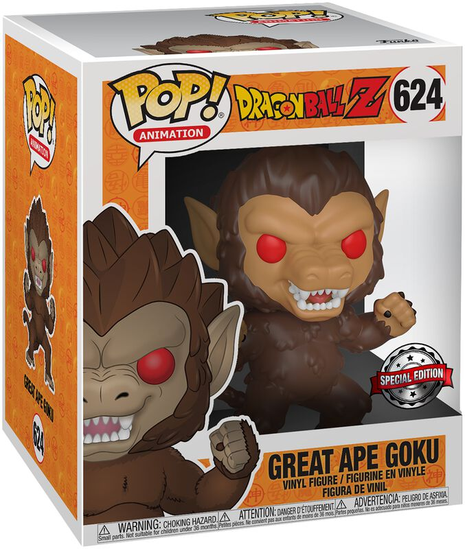 Z - Great Ape Goku (Super Pop!) Vinyl Figur 624