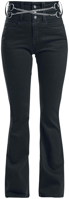 Hosen für Frauen - Black Premium by EMP Grace Jeans schwarz  - Onlineshop EMP