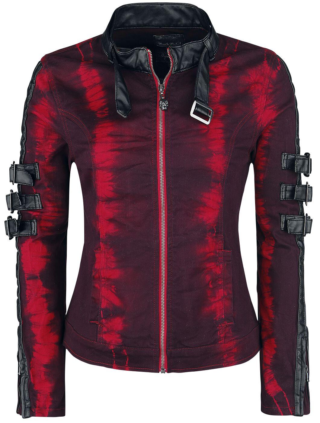 Jacken für Frauen - Rock Rebel by EMP Rock The Night Übergangsjacke rot schwarz  - Onlineshop EMP