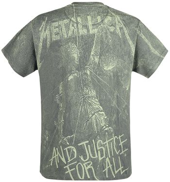 ... And Justice For All - Neon Backdrop
