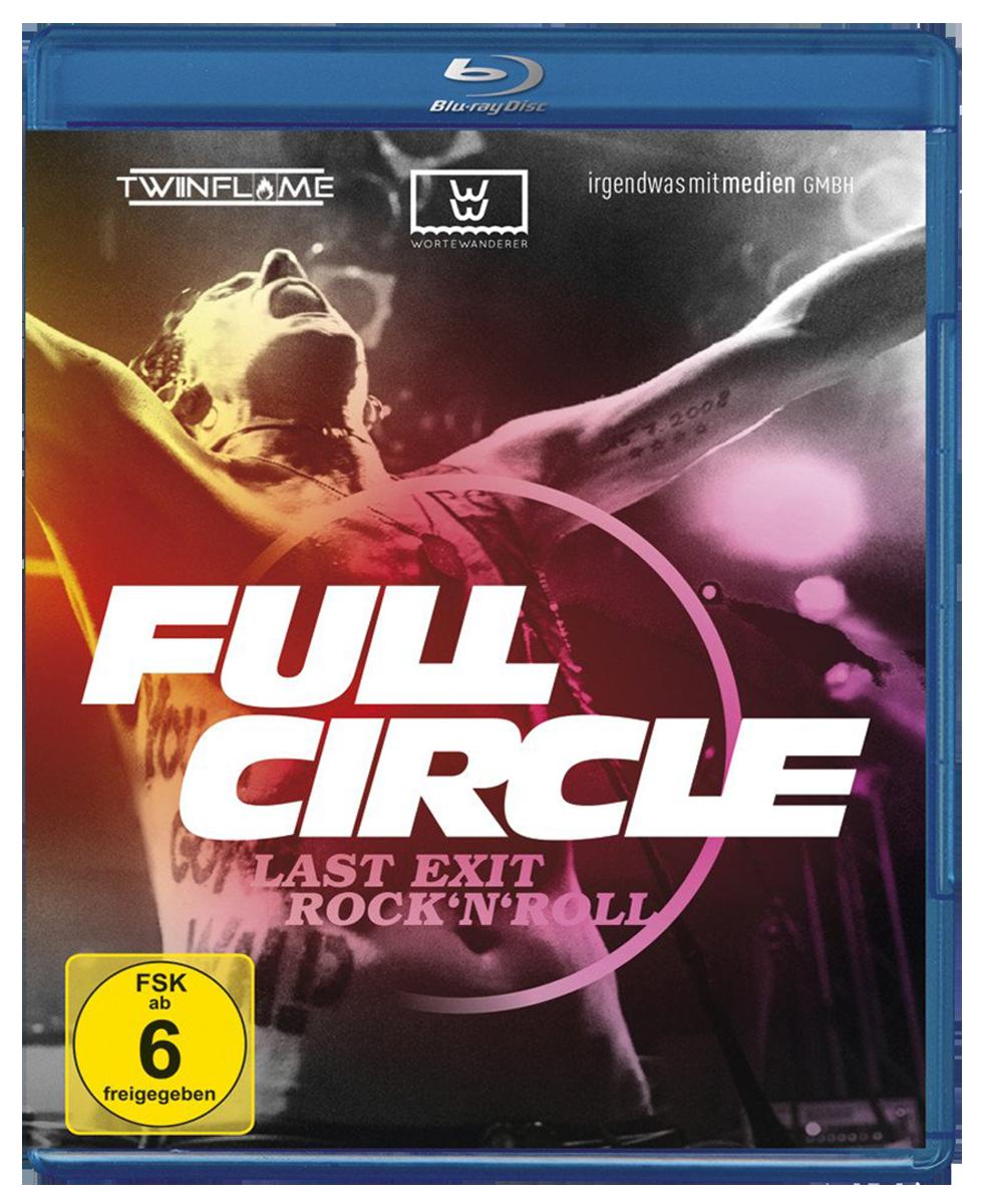 Image of Full Circle Last Exit Rock 'N' Roll Blu-ray & Postkartenset Standard