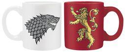 Stark & Lannister - Espresso-Tassen-Set