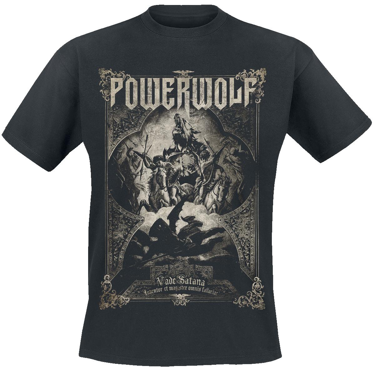 Powerwolf - Vada Satana - T-Shirt - black image