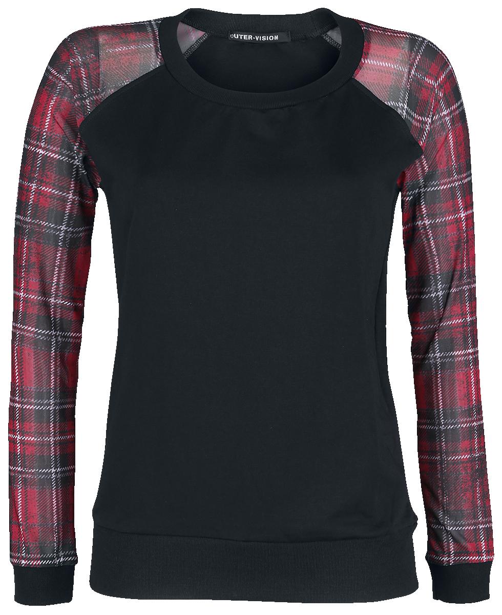 Outer Vision - Eindhoven Harrys - Girls sweatshirt - black-red image