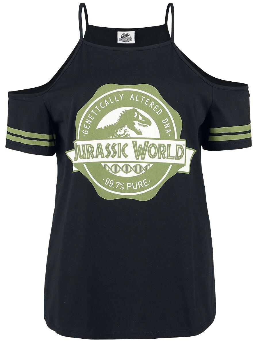 Jurassic World Genetically Altered Dna Jurassic Park T Shirt Emp