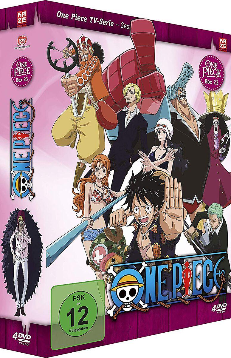 Image of One Piece Die TV-Serie - Box 23 - Episoden 688-715 4-DVD Standard