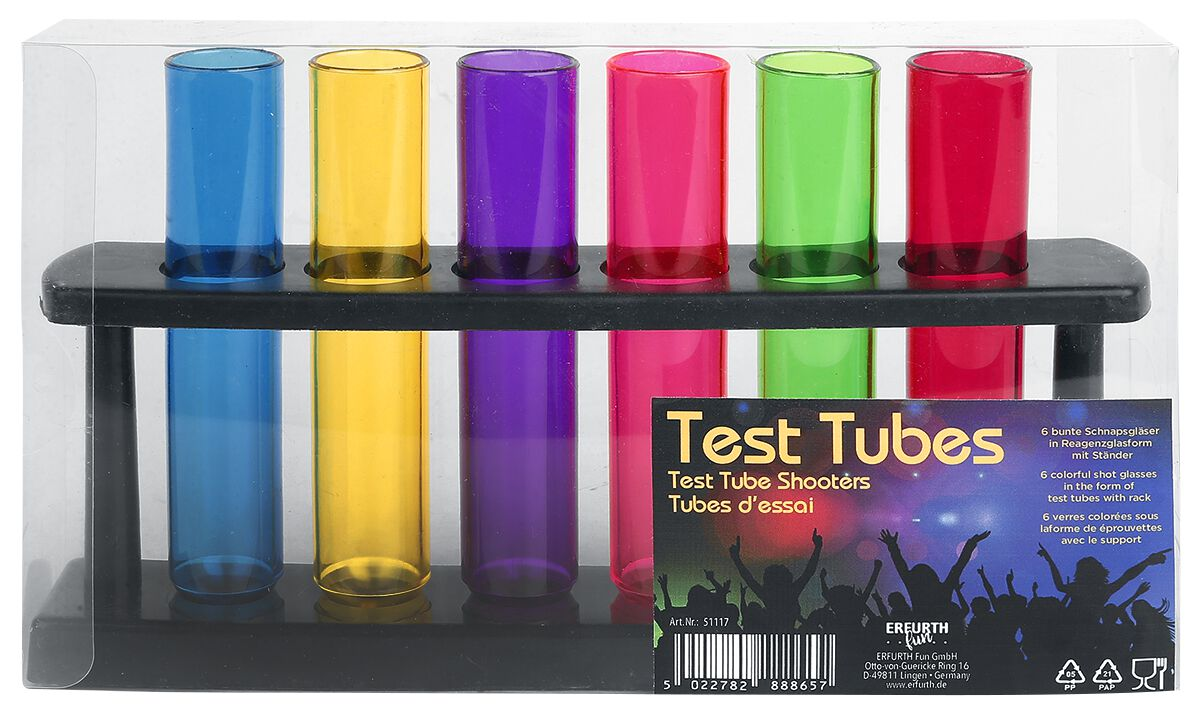 Test Tube Shooters Schnapsglas-Set   EMP 55ff8b5319
