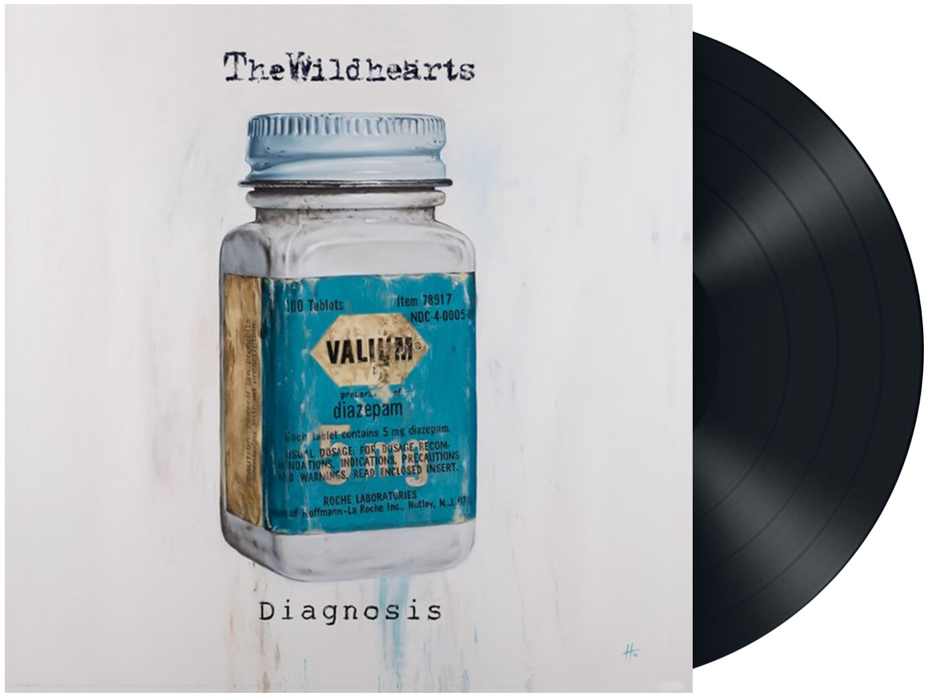 Image of The Wildhearts Diagnosis 10 inch-EP Standard
