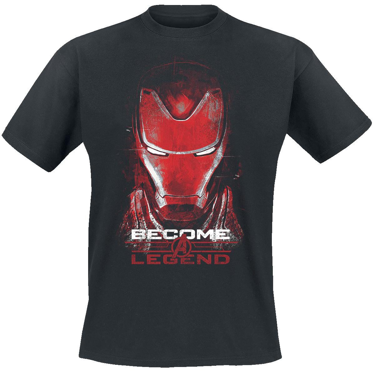 Iron Man - Become A Legend - T-Shirt - black image