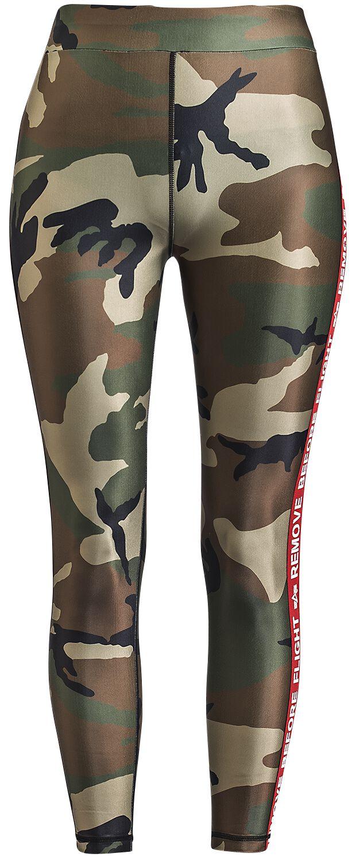 Hosen - Alpha Industries RBF Tape Leggins Leggings camouflage  - Onlineshop EMP