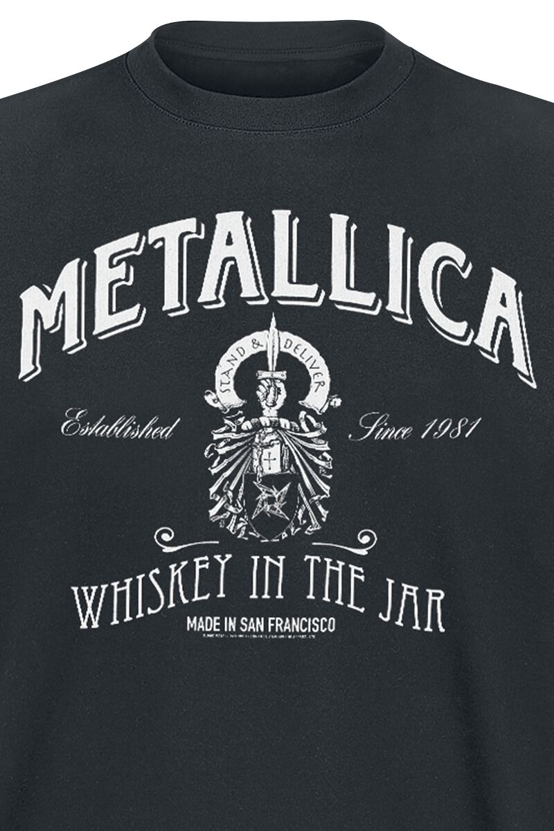 Whiskey In The Jar Metallica T Shirt Emp